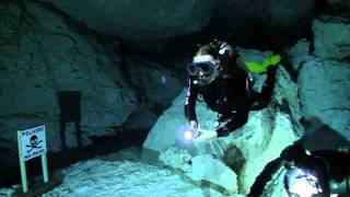 Cavern Diving safety message