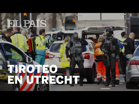 UTRECHT: Varios HERIDOS en un TIROTEO en la ciudad holandesa