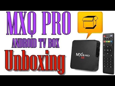 Open Box MXQ Pro Android TV Box