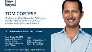 video - George Talks Business with Tom Cortese