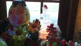 A Taste Above Catering / Fruit Bar Display/ The Waterfall Experience