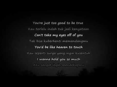 CAN'T TAKE MY EYES OFF OF YOU. (COVER Joseph Vincent) And Lirik Terjemahan