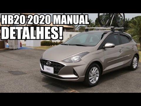 NOVO HB20 1.0 MANUAL 2020 em DETALHES! - Falando de Carro