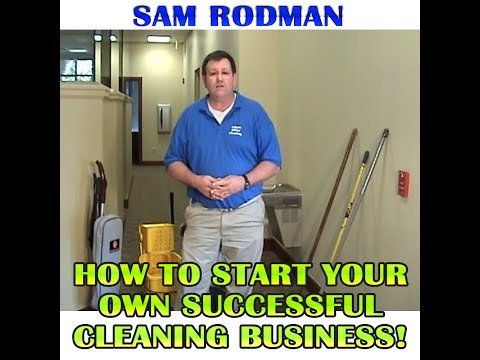 How To Run a Cleaning Business - Tips!