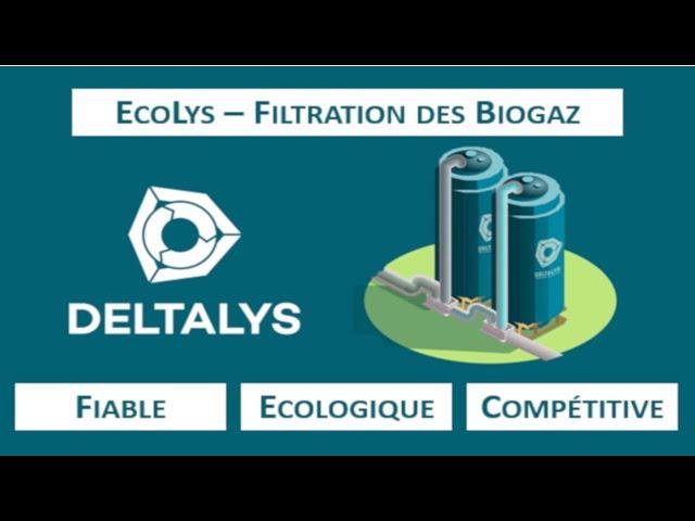 EcoLys - Biogaz filtration