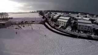 preview picture of video 'Kreuzlingen, Schlitteln an der Alpstrasse'
