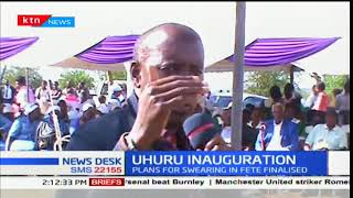 Kajiado leaders plan to ferry thousands of people to President Uhuru's inauguration ceremony