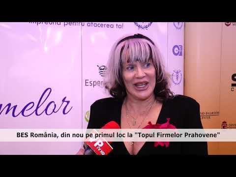 """BES România, din nou pe primul loc la """"Topul Firmelor Prahovene"""""""