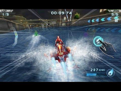 Видео Гонки водных мотоциклов 3D