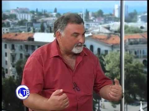 Владимир Шигин в эфире Севастополького ТВ 2014 год