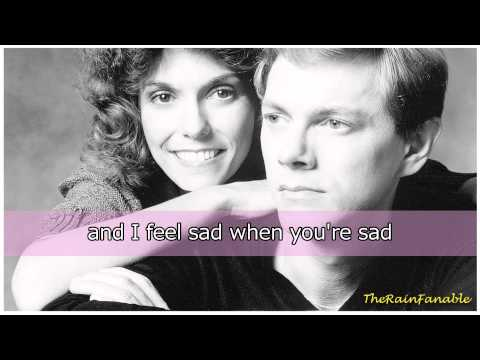 The Carpenters - I Can't Smile Without You | Lyrics
