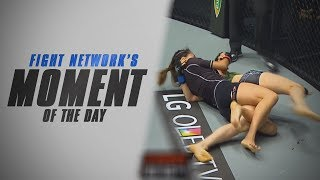 Moment of the Day: Angela Lee