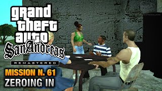 GTA San Andreas Remastered - Mission #61 - Zeroing In (Xbox 360 / PS3)