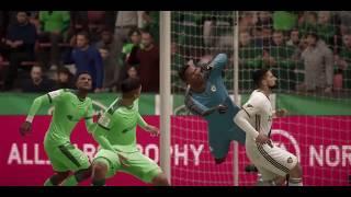 Предсезоный турнир матч LA Galaxy VS La Eqidad