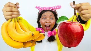 Apples and Bananas Song Nursery Rhymes for Kids