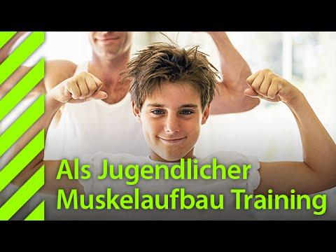 Als Jugendlicher Muskelaufbau Training