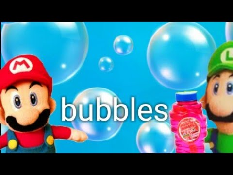 Mario and Luigi's bubbles