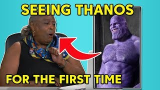Elders react to photos of Naked Thanos - Naked Thanos meme