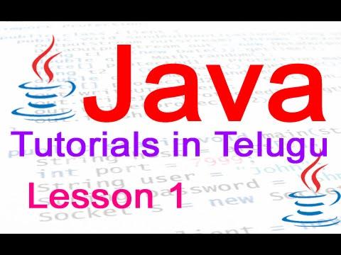 Java Tutorials In Telugu Courses Free