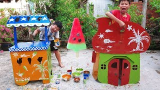 Trò Chơi Songs New PlayHouse ❤ ChiChi ToysReview TV ❤ Đồ Chơi Trẻ Em Nhà Mới Bé Doli