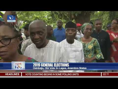Osinbajo, Durotoye, Obi Vote In Lagos, Anambra States