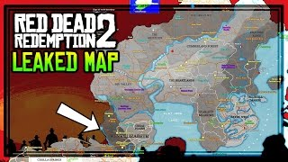 red dead redemption 2 leaked game map