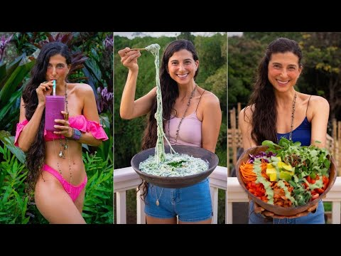 5 Meals I Eat Every Week 🍒 Simple Satisfying Raw Vegan Recipes for Health, Wellness & Healing