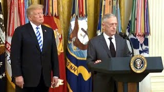 President Trump, Defense Sec. Mattis Remarks at the 35th Anniversary of the Attack on Beirut