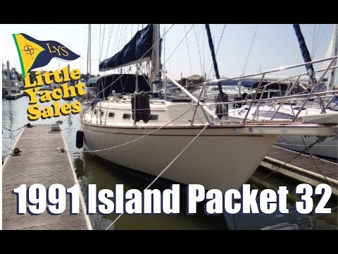 1991 Island Packet 32 Sailboat for sale at Little Yacht Sales, Kemah Texas