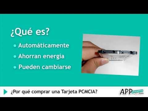 ¿Por qué debo comprar una Tarjeta PCMCIA?  l APPinformatica.com