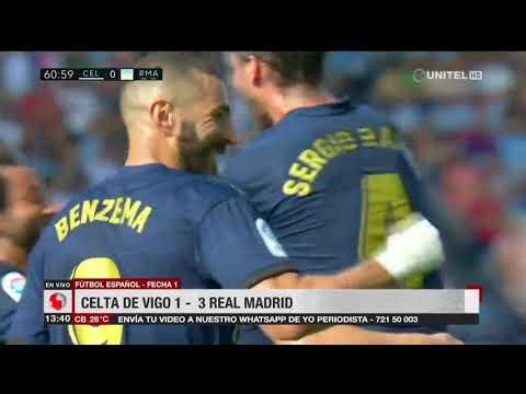 España: Celta de Vigo 1-3 Real Madrid