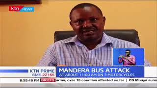 3 killed and 6 injured after Suspected Al Shabaab militants attacked bus heading to Mandera