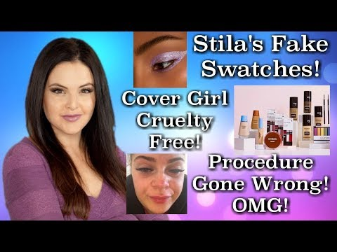 What's Up in Makeup NEWS! Stila Fakes Swatches + Cover Girl Cruelty Free + MORE!