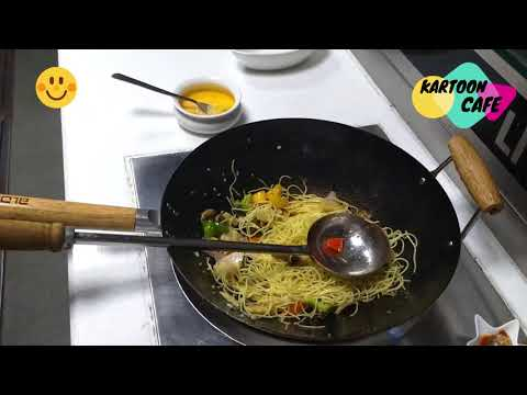 Veg Dragon Ball Z Noodles | Kartoon Cafe