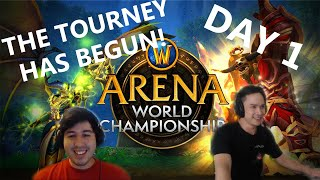 FIRST TOURNEY IS HERE! AWC CUP HIGHLIGHTS PART 1 | The Move