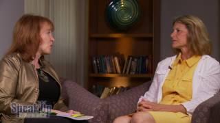 Deborah Ann Saint with Carol Kent of Speak Up 2017