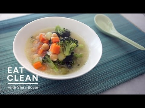 Vegetable-Miso Soup with Chickpeas – Eat Clean With Shira Bocar