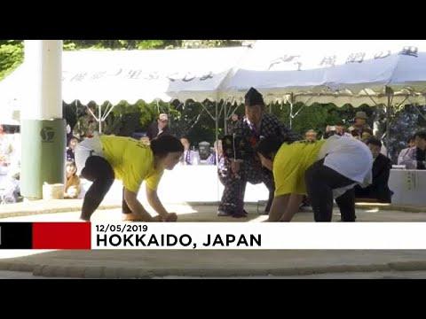 العرب اليوم - شاهد: اليابان تُنظم دورة نسائية استثنائية في رياضة السومو