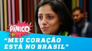 'Meu coração está no Brasil', diz Maha Mamo