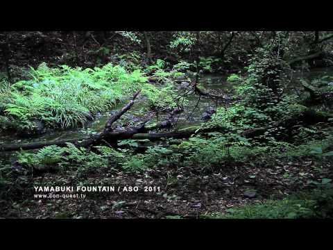 جمال الطبيعة وصوت خرير الماء .رائع HD