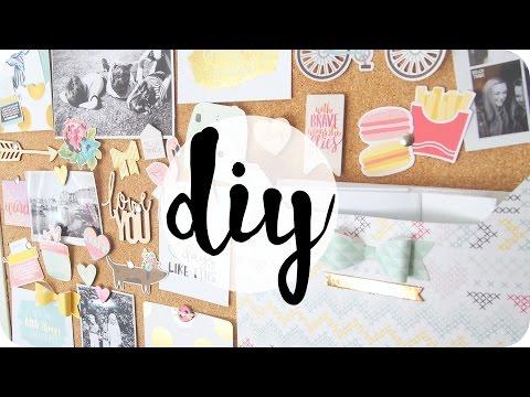 DIY | Cork board / Moodboard Decoration & Organisation | #MoodyMonday