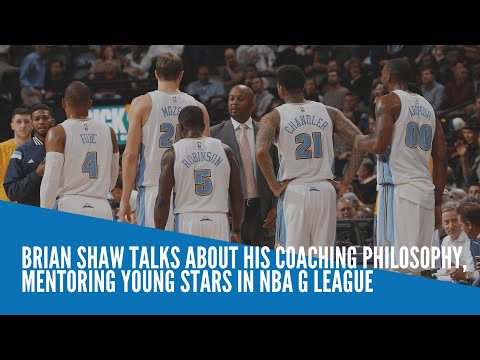 [Inquirer]  Brian Shaw talks about his coaching philosophy,  mentoring young stars in NBA G League