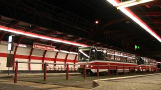 preview picture of video 'Tramvajová trať Hlubočepy - Sídliště Barrandov'