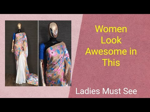Japan Satin Silk Saree