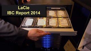 LaCie Festplatten Neuheiten - USB 3.0 und Thunderbolt - Produktvorstellung aus dem IBC Report 2014