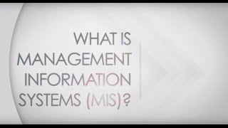 What is Management Information Systems (MIS)?