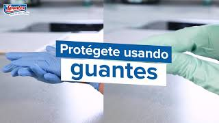 Spontex Protege tus manos usando guantes anuncio