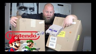 NINTENDO SURPRISE IN THIS $1,537 Amazon Customer Returns ELECTRONICS Pallet with 2 Mystery Boxes
