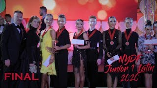 2020 NYDF I Junior 1 International Latin I Final