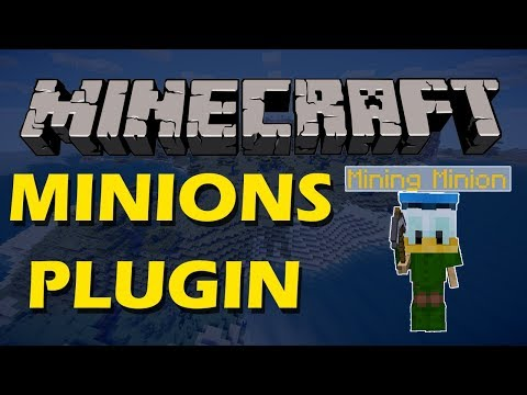 Get yourself a helper in Minecraft with Minions Plugin